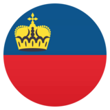 Flag: Liechtenstein on JoyPixels 4.5