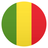 Flag: Mali on JoyPixels 4.5
