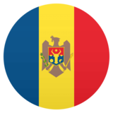Flag: Moldova on JoyPixels 4.5