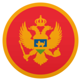 Flag: Montenegro on JoyPixels 4.5