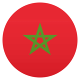 Flag: Morocco on JoyPixels 4.5