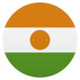 Flag: Niger on JoyPixels 4.5