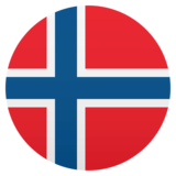 Flag: Norway on JoyPixels 4.5