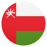 Flag: Oman on JoyPixels 4.5