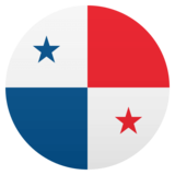 Flag: Panama on JoyPixels 4.5