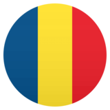 Flag: Romania on JoyPixels 4.5