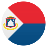Flag: Sint Maarten on JoyPixels 4.5