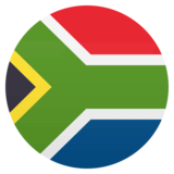 Flag: South Africa on JoyPixels 4.5