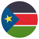 Flag: South Sudan on JoyPixels 4.5