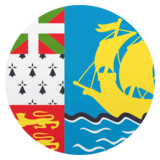Flag: St. Pierre & Miquelon on JoyPixels 4.5