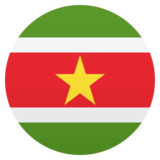 Flag: Suriname on JoyPixels 4.5