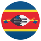 Flag: Swaziland on JoyPixels 4.5