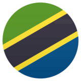 Flag: Tanzania on JoyPixels 4.5