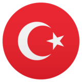 Flag: Turkey on EmojiOne 4.5