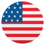 Flag: United States on JoyPixels 4.5