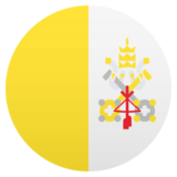 Flag: Vatican City on JoyPixels 4.5