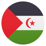 Flag: Western Sahara on JoyPixels 4.5