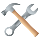 Hammer and Wrench on JoyPixels 4.5