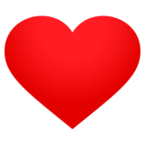 Red Heart on EmojiOne 4.5