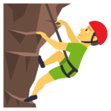 Man Climbing on JoyPixels 4.5