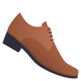 Man's Shoe on JoyPixels 4.5