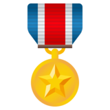Military Medal on JoyPixels 4.5