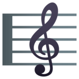 Musical Score on JoyPixels 4.5