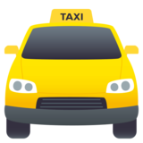 Oncoming Taxi on JoyPixels 4.5