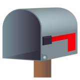 Open Mailbox with Lowered Flag on JoyPixels 4.5