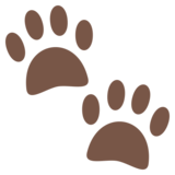 Paw Prints on JoyPixels 4.5