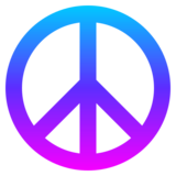 Peace Symbol on JoyPixels 4.5