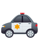 Police Car on JoyPixels 4.5