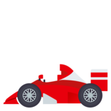 Racing Car on JoyPixels 4.5