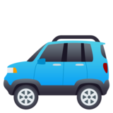 Sport Utility Vehicle on JoyPixels 4.5
