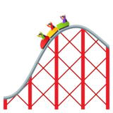 Roller Coaster on JoyPixels 4.5
