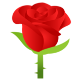 Rose on JoyPixels 4.5