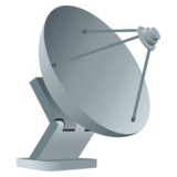 Satellite Antenna on JoyPixels 4.5