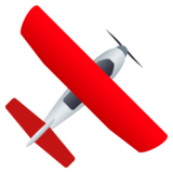 Small Airplane on JoyPixels 4.5