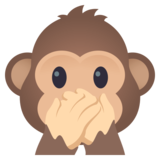 Speak-No-Evil Monkey on JoyPixels 4.5