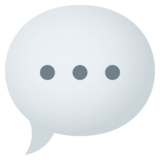 Speech Balloon on JoyPixels 4.5