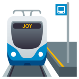 Station on JoyPixels 4.5