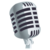Studio Microphone on JoyPixels 4.5