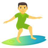 Person Surfing on JoyPixels 4.5