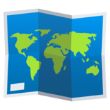 World Map on JoyPixels 4.5