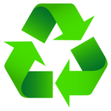 Recycling Symbol on JoyPixels 5.0