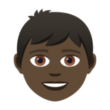 Boy: Dark Skin Tone on JoyPixels 5.0