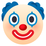 Clown Face on JoyPixels 5.0