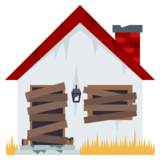 Derelict House on JoyPixels 5.0