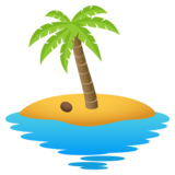 Desert Island on JoyPixels 5.0
