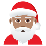 Santa Claus: Medium Skin Tone on JoyPixels 5.0